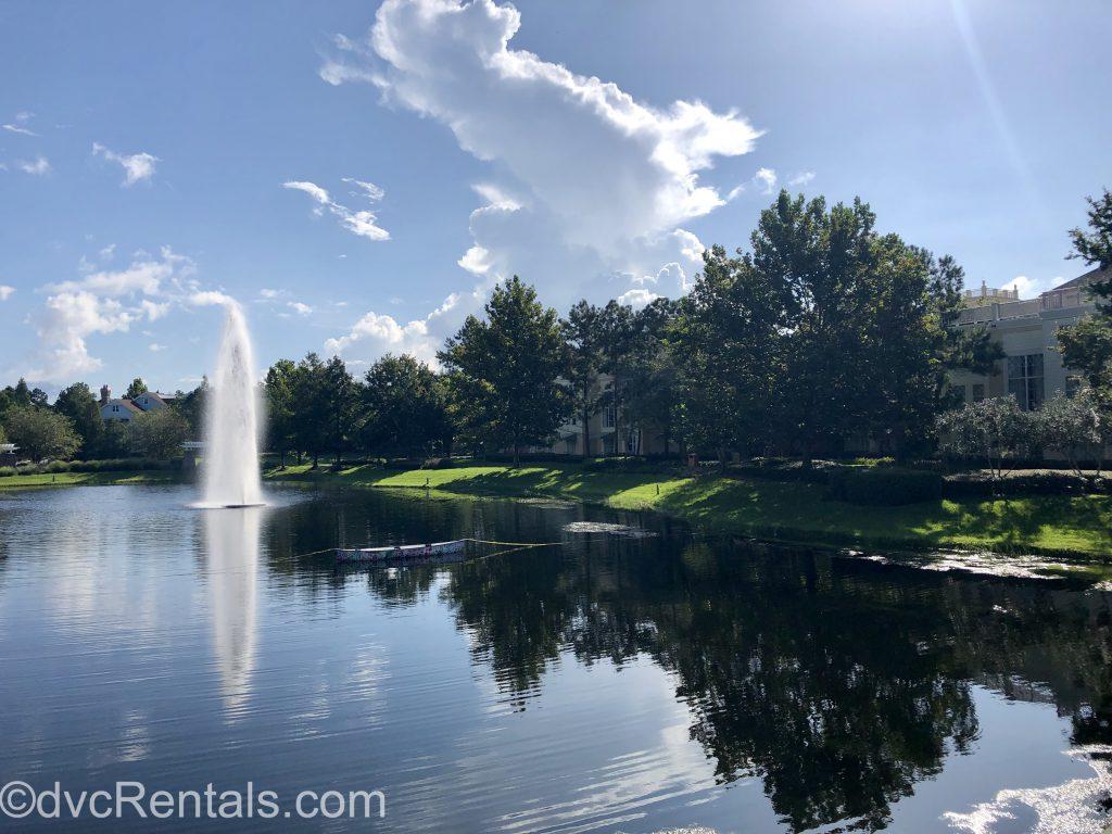 Landscape view at Disney's Saratoga Springs Resort & Spa