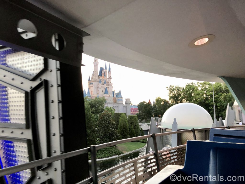 picture of Cinderella Castle from the PeopleMover