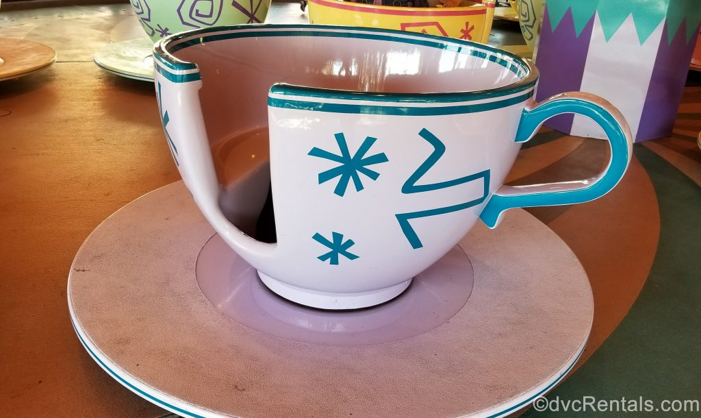 Tea Cup from the Mad Hatter Tea Party