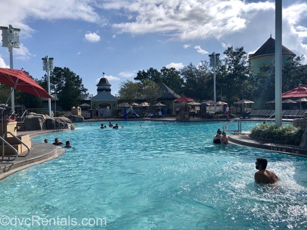 High Rock Springs Pool at Disney's Saratoga Springs Resort & Spa