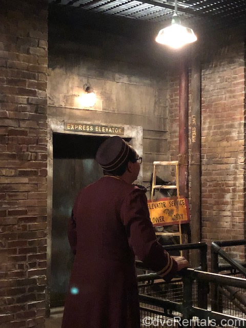 Bellhop at the Tower of Terror