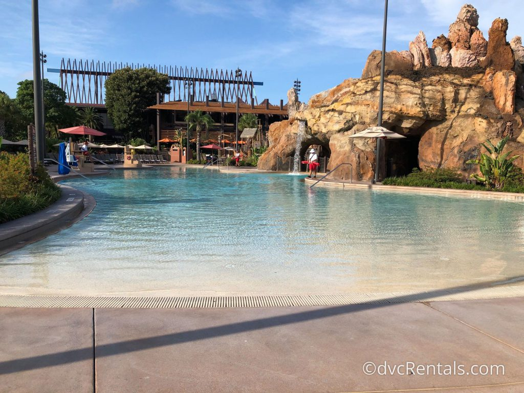 Lava Pool at Disney's Polynesian Villas & Bungalows
