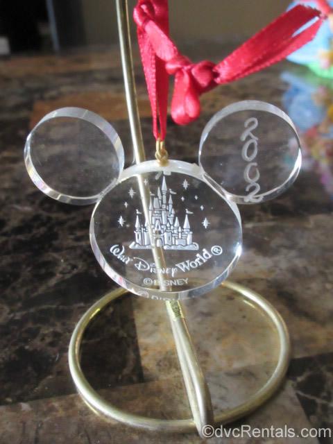 Mickey Head shaped ornament