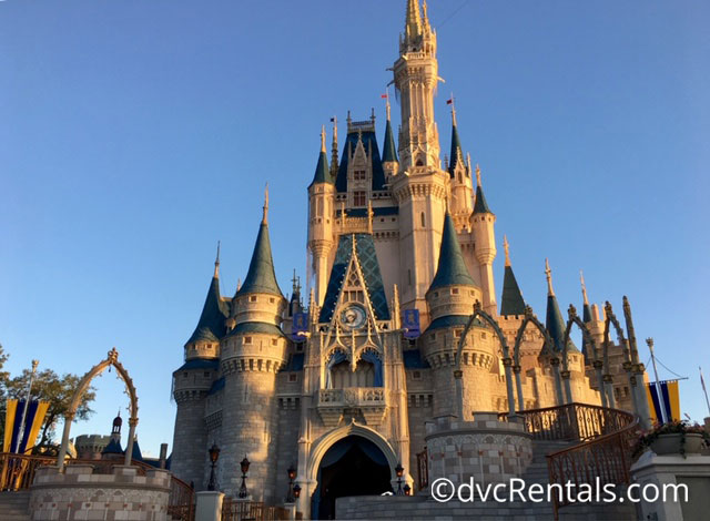Cinderella Castle at the Magic Kingdom