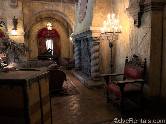 Tower of Terror lobby