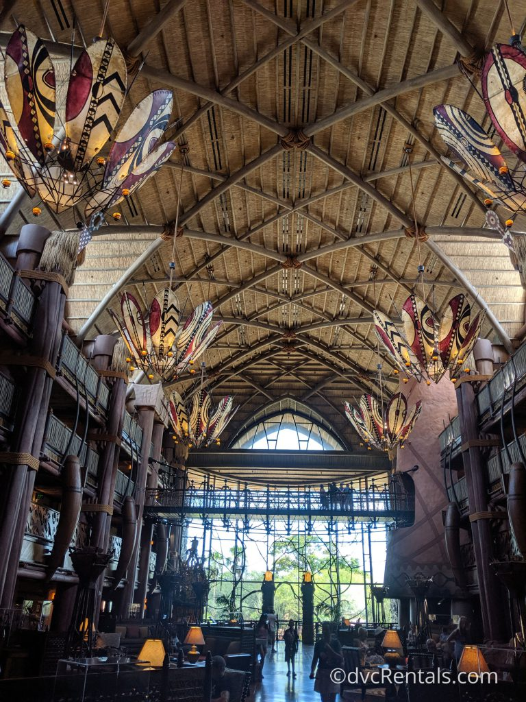 Lobby of Disney's Animal Kingdom Villas – Jambo House