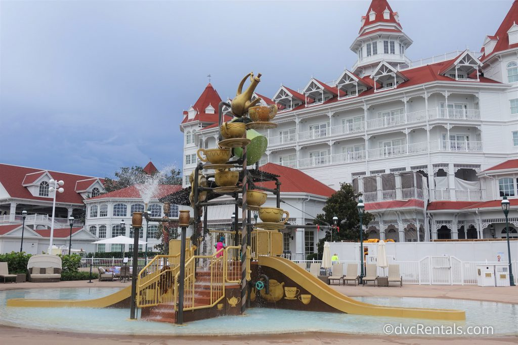 Splashpad at the Villas at Disney's Grand Floridian