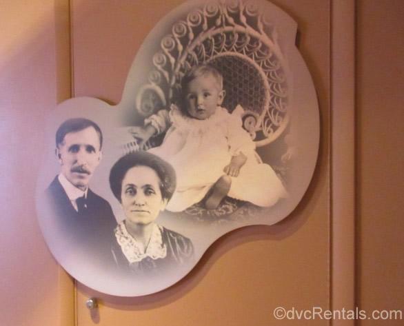Walt Disney with his parents