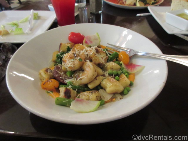 Gnocchi from Tony's Town Square Restaurant