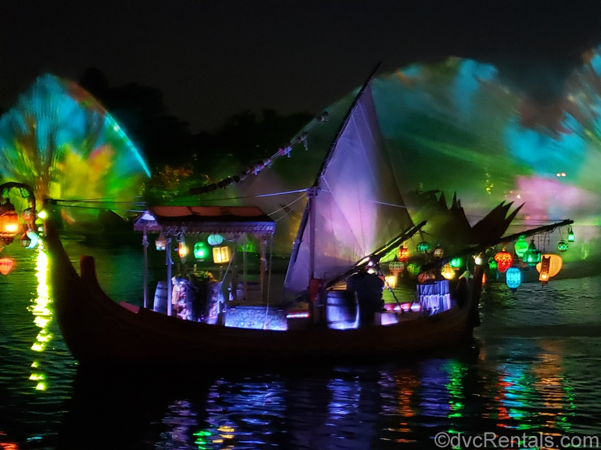 River's of Light show at Disney's Animal Kingdom