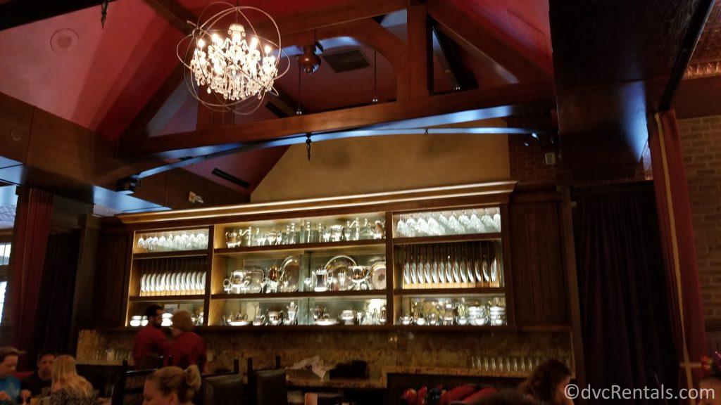 Trattoria al Forno restaurant decore
