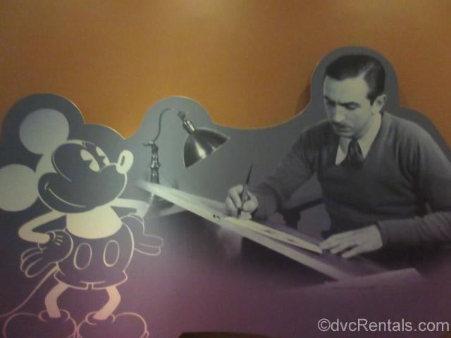 Walt drawing