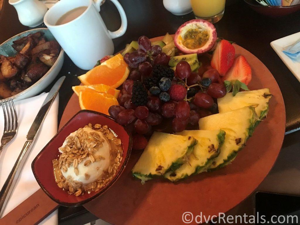 Pascal's Palette breakfast entrée