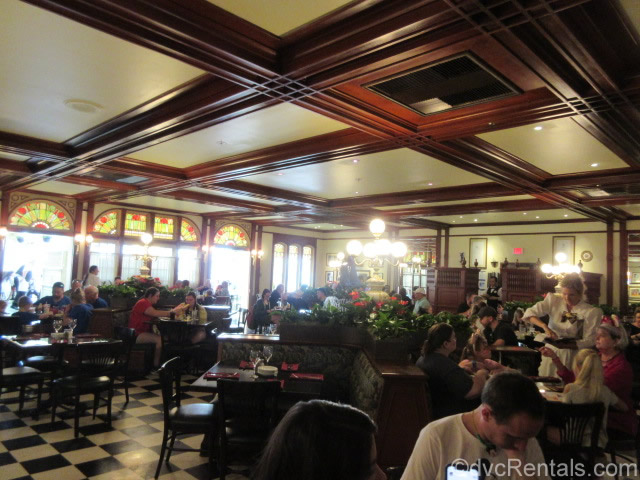 Dining room at Tony's Town Square Restaurant