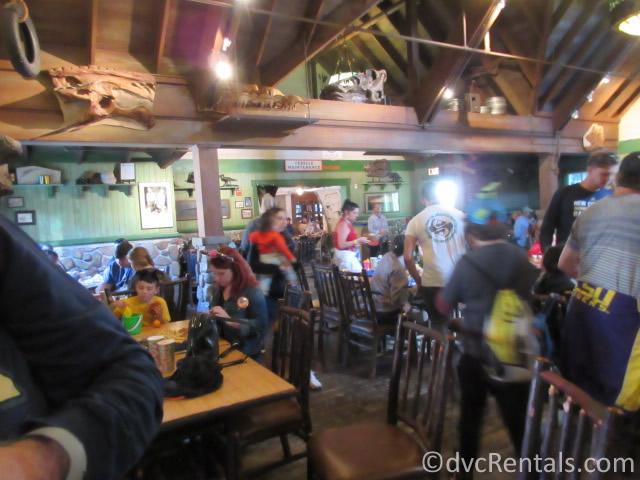 dining room at Restaurantosaurus
