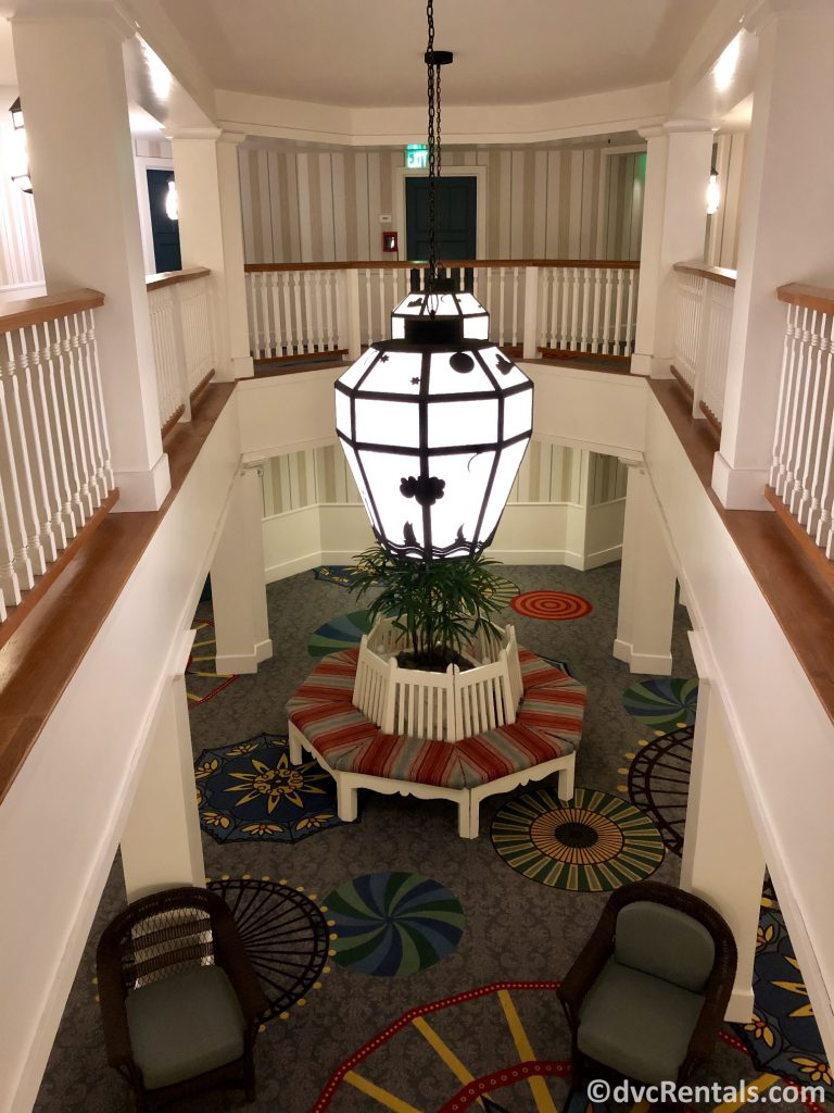 décor at Disney's Boardwalk Villas