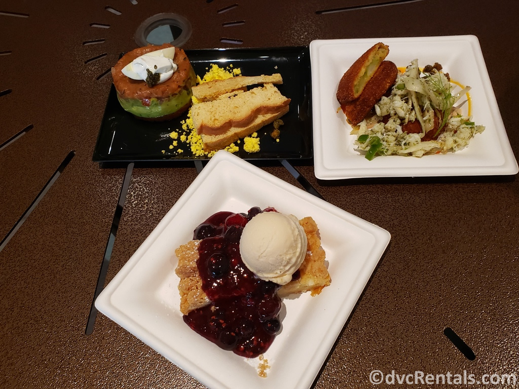 Food options at the Epcot International Flower and Garden Festival