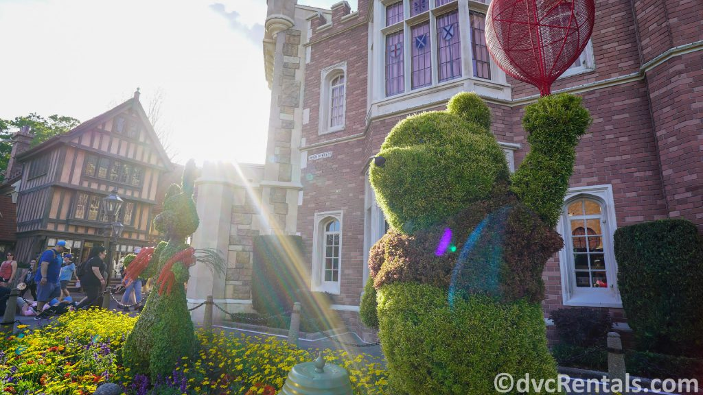 Winnie the Pooh Topiary at the Epcot International Flower and Garden Festival