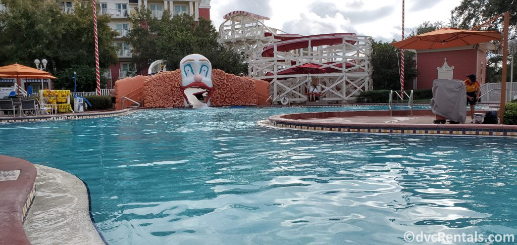 Luna Park Pool at Disney's Boardwalk Villas