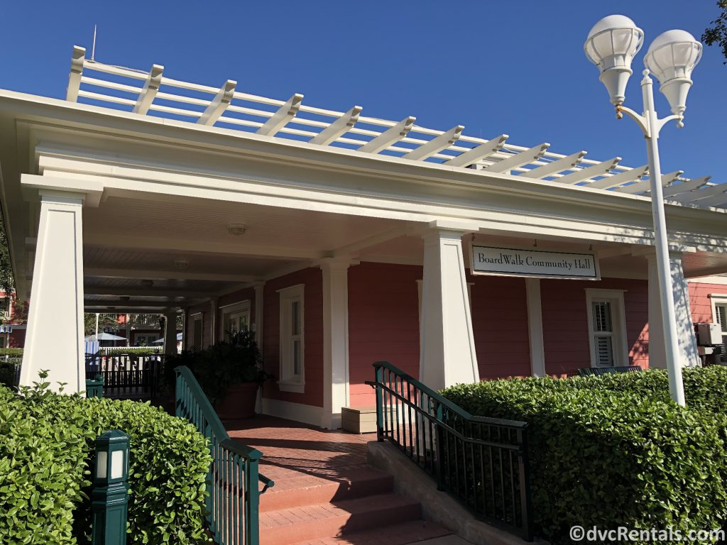 Community Hall at Disney's Boardwalk Villas