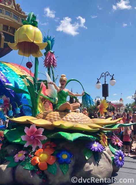 Tinkerbell at Disney's Magic Kingdom
