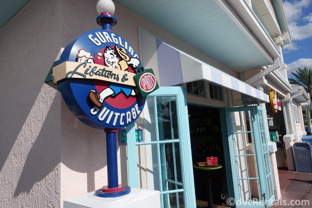 The Gurgling Suitcase at Disney's Old Key West