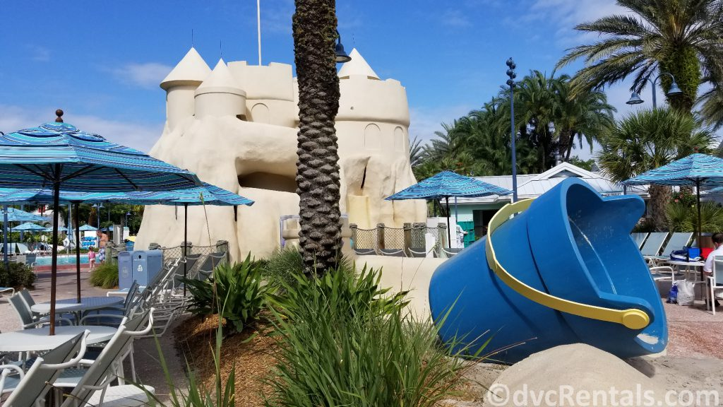 Sandcastle Pool area at Disney's Old Key West