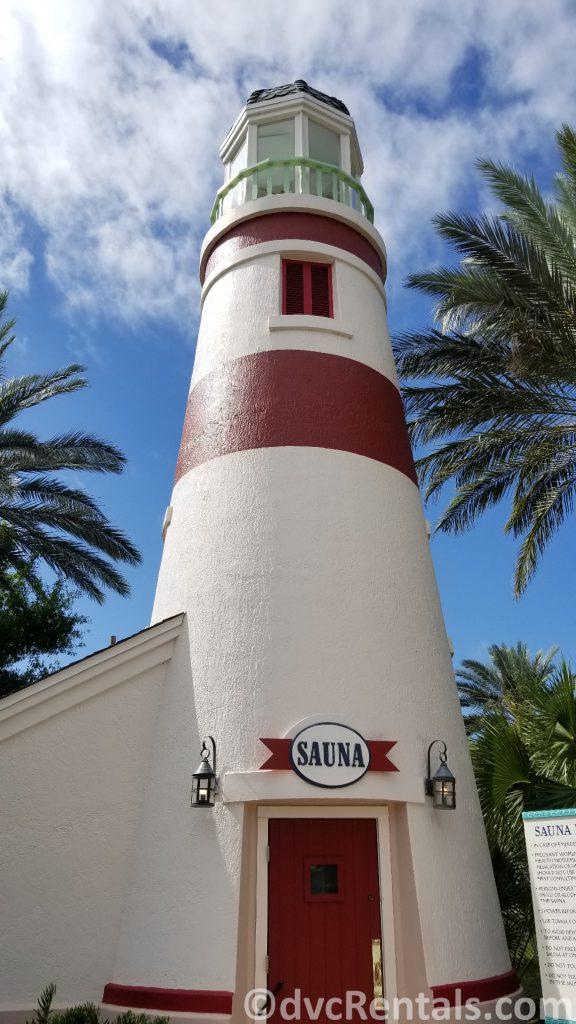 Sauna at Disney's Old Key West