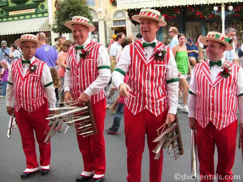 Dapper Dans at Disney's Magic Kingdom