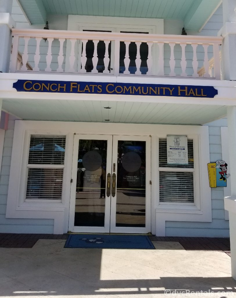 Community Hall at Disney's Old Key West