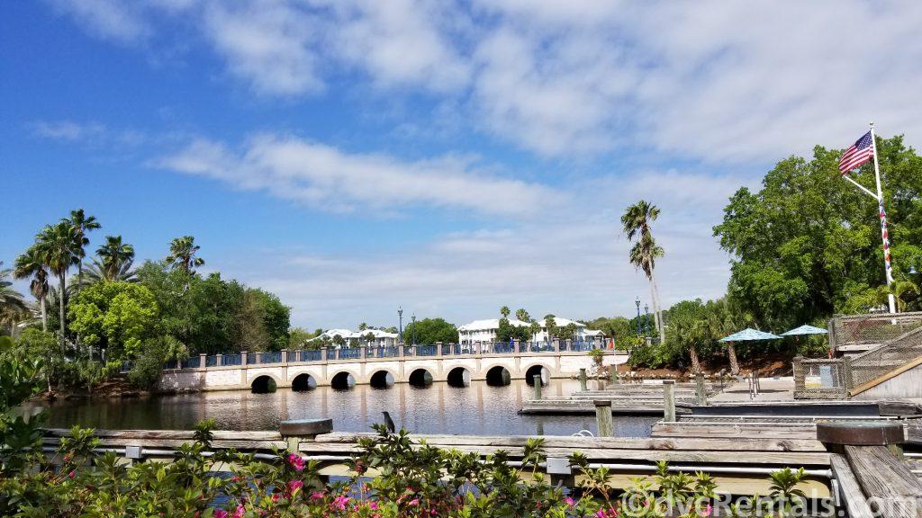 bridge at Disney's Old Key West