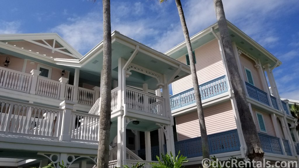 photo of exterior of a Villa building at Disney's Old Key West