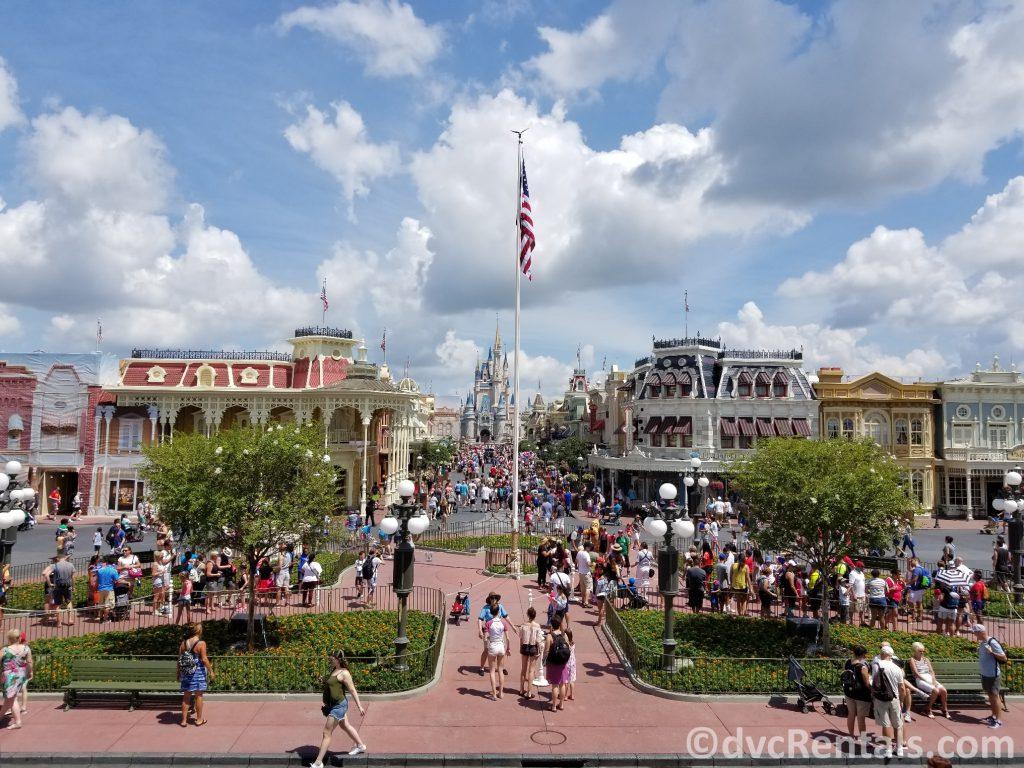 Main Street U.S.A. at Disney's Magic Kingdom