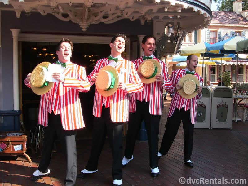 Dapper Dans at Disneyland