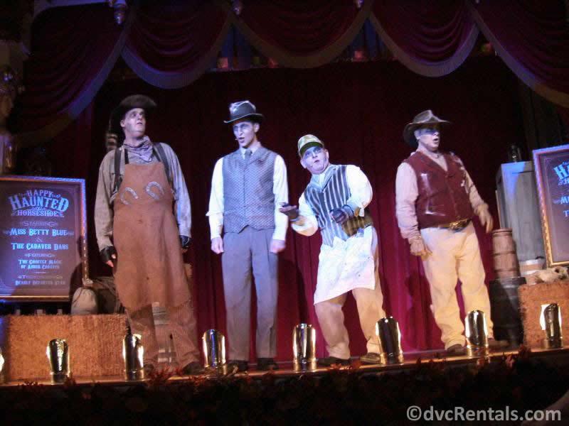 Cadaver Dans at Disney's Magic Kingdom