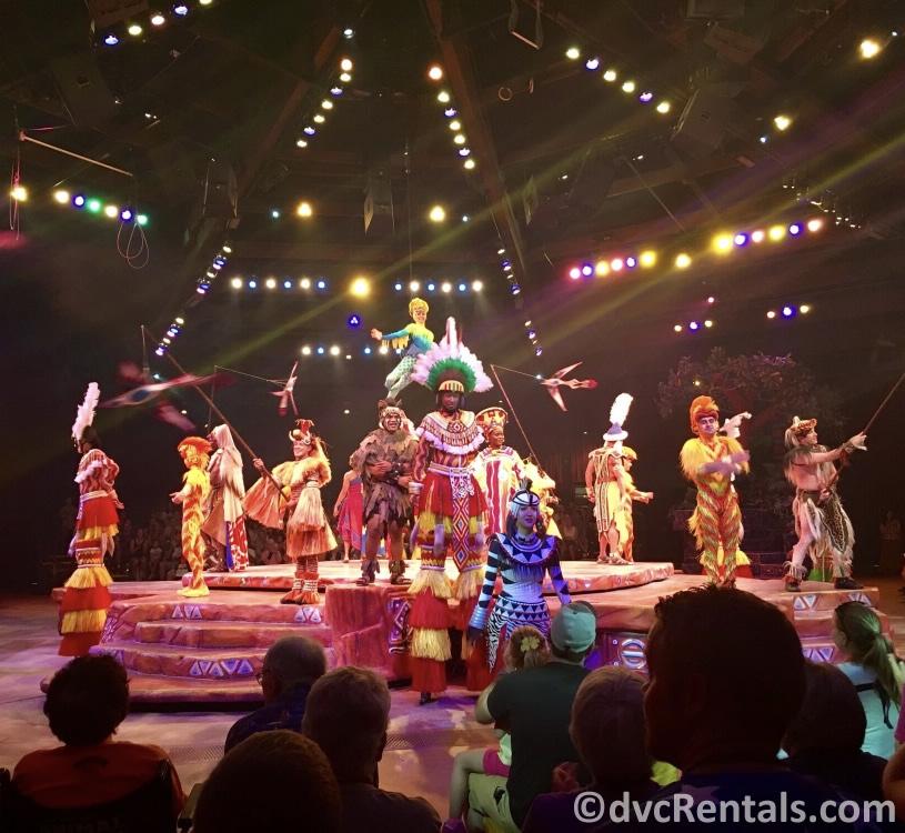 Lion King Show at Disney's Animal Kingdom