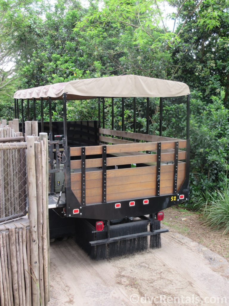 Truck used for the Wild Africa Trek