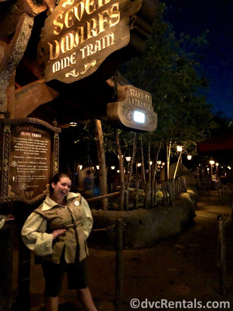 7 Dwarfs Mine Train at Disney's Magic Kingdom