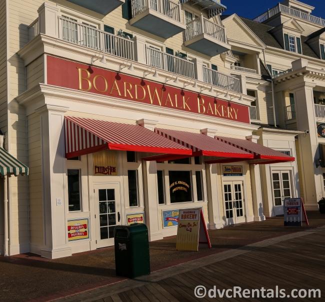 Boardwalk Bakery at Disney's Boardwalk Villas
