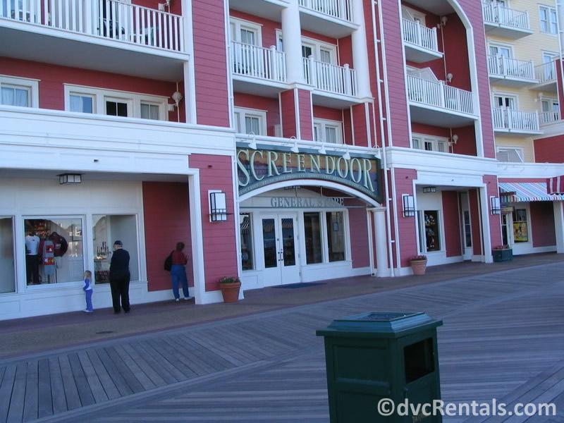 Screen Door General Store at Disney's Boardwalk Villas