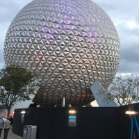 Photo of geosphere at Epcot