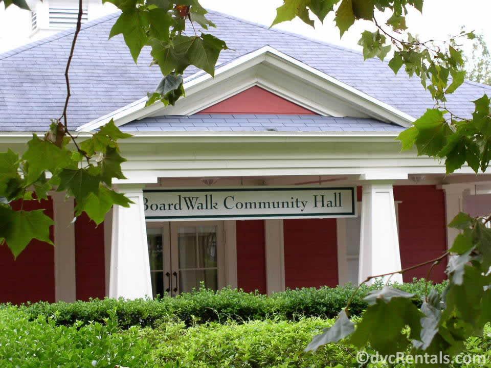 Community Hall at Disney's Boardwalk Villas