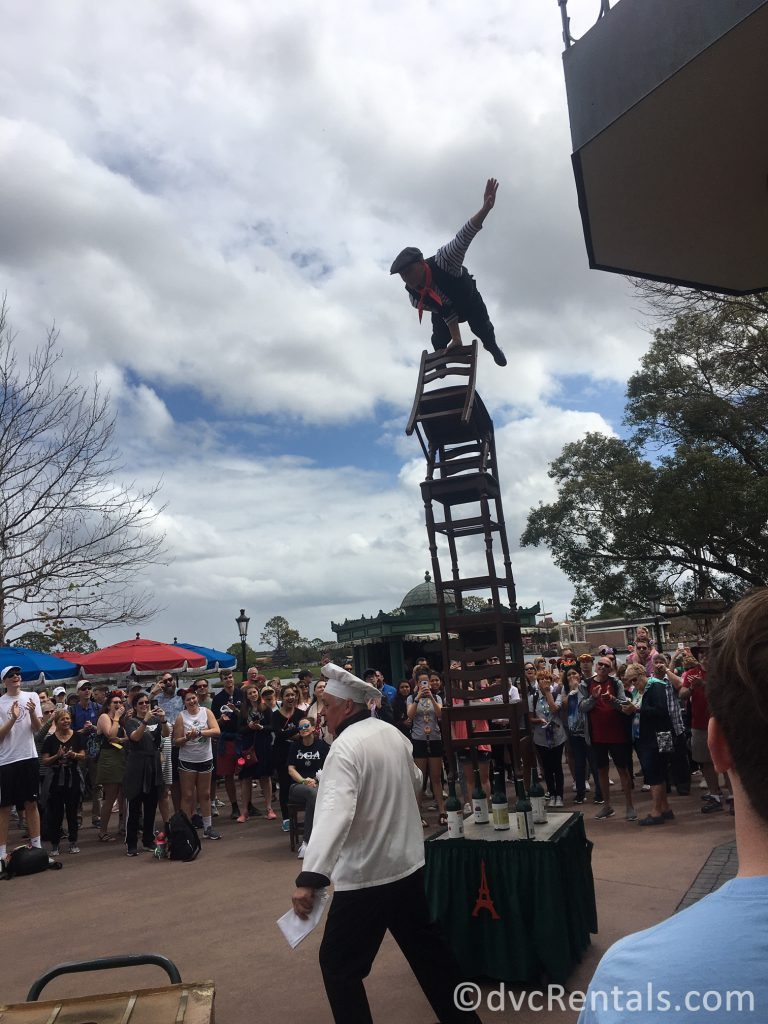 Performers throughout Epcot