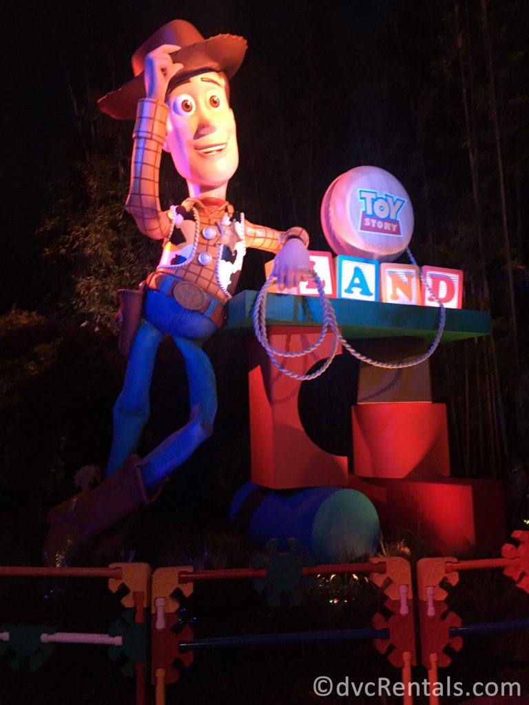 Entrance to Toy Story Land at Disney's Hollywood Studios