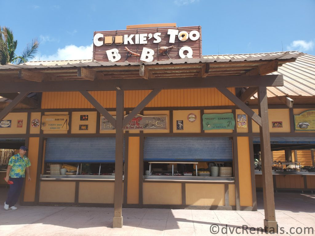 Cookie's Too restaurant on Castaway Cay