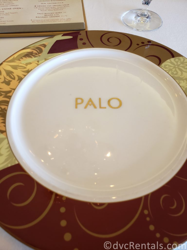 place setting at Palo