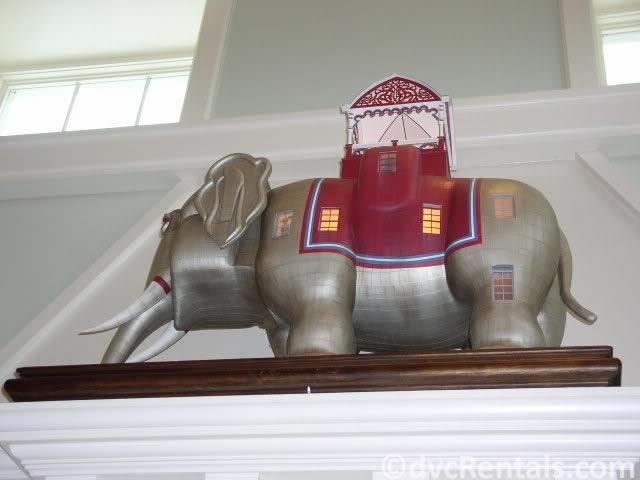 replica of Elephant hotel