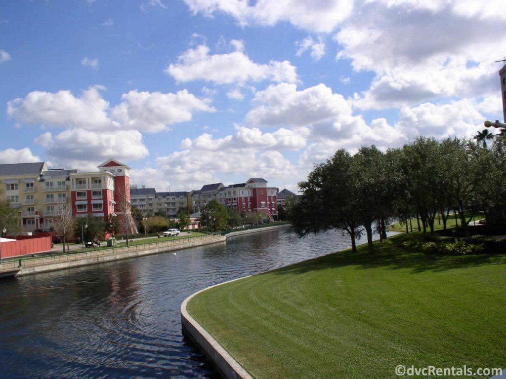 walkway from Disney's Boardwalk Villas to Disney's Hollywood Studios