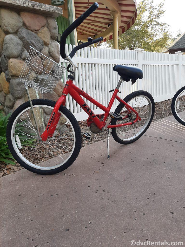Bike from Disney's Saratoga Springs