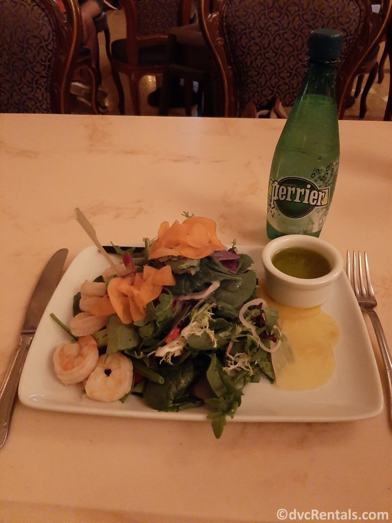 Shrimp Salad from Be our Guest Restaurant